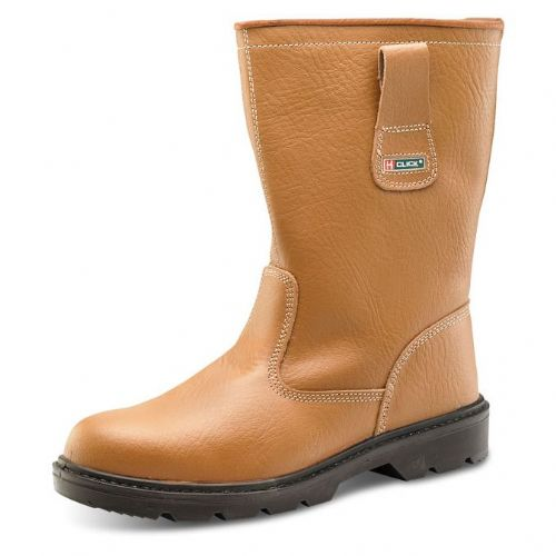 Click Lined Safety Rigger Boots